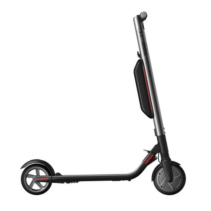 Segway Ninebot ES4 Electric Kick Scooter with External Battery