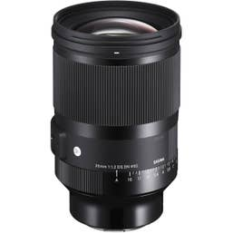 Sigma AF 35mm f/1.2 DG DN (A) F/ Sony E-Mount optimized for full-frame mirrorless cameras, Sigma's first F1.2 prime