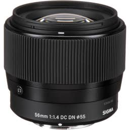 Sigma 56mm f/1.4 DC DN Contemporary Lens for Micro Four Thirds