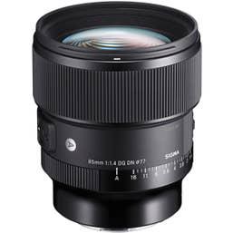 Sigma 85mm f/1.4 DG DN Art Lens for Sony-E Mount