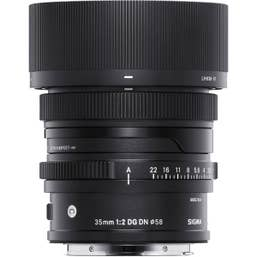 Sigma AF 35mm f/2 DG DN Contemporary Lens For Sony E-Mount