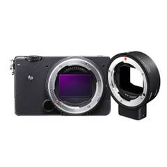 Sigma FP Digital Camera with Sigma MC-21 EF-Mount to L Mount Adapter