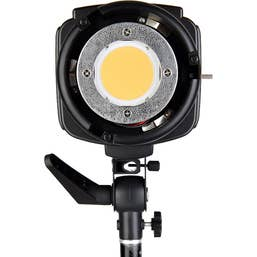 Godox SL-200W LED Monolight with Softbox Kit and cushioned stand.