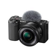 Sony ZVE10 Body w/ 16-50mm Black Kit