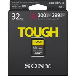 Sony 32GB Professional 300mb/s SF-G V90 Tough SD Card