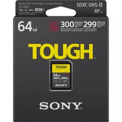 Sony 64GB Professional 300mb/s SF-G V90 Tough SD Card