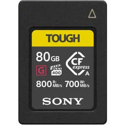 Sony 80GB CFexpress Type A Card