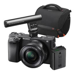 Sony A6400 Content Creator Sony Gift Pack