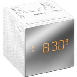 Sony ICFC1B Clock Radio (White)