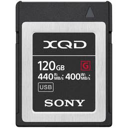 Sony 120GB XQD G Series F 400mb/s Write Speed