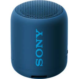 Sony SRS-XB12 Compact Extra Bass Bluetooth Speaker (Blue)