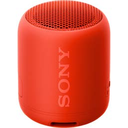 Sony SRS-XB12 Compact Extra Bass Bluetooth Speaker (Red)