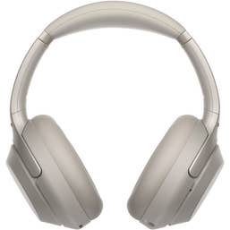 Sony WH-1000XM3 Wireless Noise Cancelling Over-Ear Headphones (Silver)