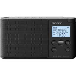 Sony XDR-S41DB Portable DAB-DAB plus Radio (Black)