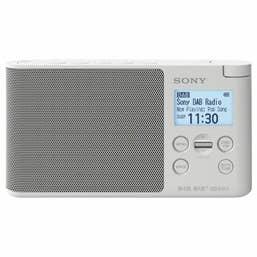 Sony XDR-S41DB Portable DAB/DAB plus Radio (White)