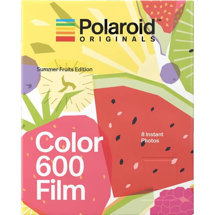 Polaroid Originals Color 600 Instant Film (Summer Fruits Edition, 8 Exposures)