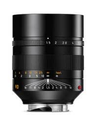 LEICA SUMMILUX-M 90mm f1.5 ASPH. Black