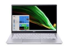 """Acer Swift X 14"""" FHD AMD R7-5800U, 16GB RAM, 2TB, RTX 3050Ti, Win 10 Home - NX.AU3SA.001"""