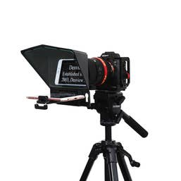 DESVIEW T2 Teleprompter for Smartphone/Tablet/DSLR with Remote Controller