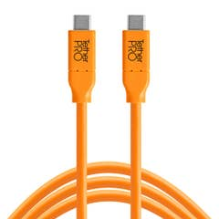 Tetherpro USB-C to USB-C 90cm - Hi-Vis Orange