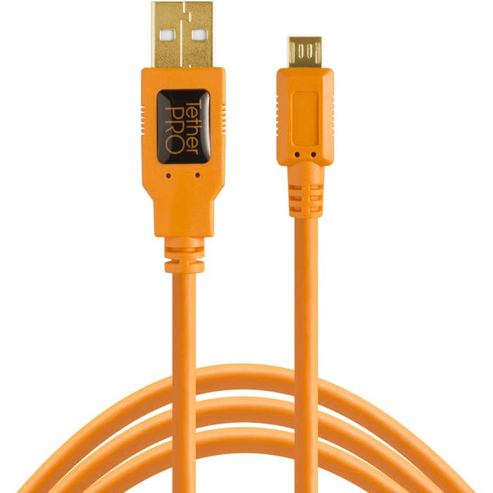 TetherPro USB 2 Male to Micro-B 5-Pin 4.6M