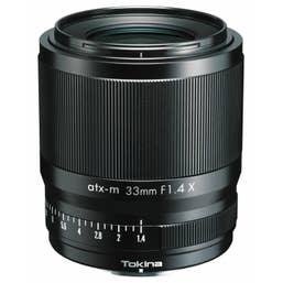 Tokina atx-m 33mm f/1.4 X Lens for Fujifilm X