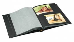 Drymount 60 Black Page Black with Silver Stamping in Case UR1