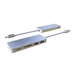 INCA Hub Reader MSD SD USB-C 3.1 SD MicroSD 2 x USB3.0 ports Type C Charge