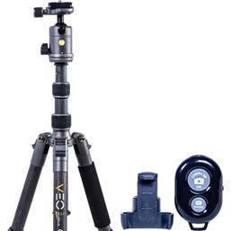 Vanguard VEO 3 GO 235CB Carbon Tripod With Bluetooth Remote