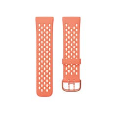 Fitbit Sport Band for Sense & Versa 3 Smartwatches (Large - Melon/Rose)