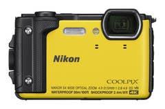 Nikon Coolpix W300 - Yellow with Black Silicon Jacket