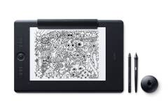 Wacom Intuos Pro Large Paper with Wacom Pro Pen 2 drawing tablet/surface for professional creatives.