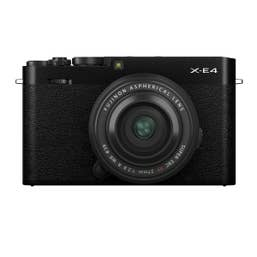 Fujifilm X-E4/XF27mmF2.8 R WR Black HB Kit