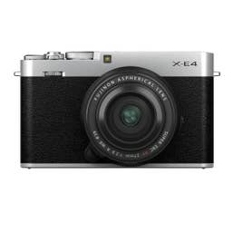 Fujifilm X-E4/XF27mmF2.8 R WR Silver HB Kit