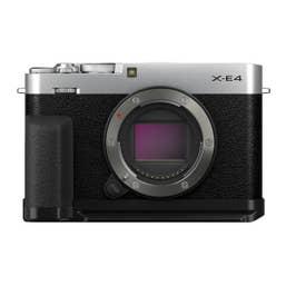 Fujifilm X-E4/MHG-XE4/TR-XE4 Silver HB Kit