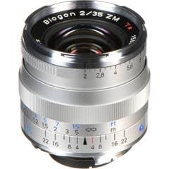 ZEISS - BIOGON 35mm f/2.0 ZM - Leica M - Silver