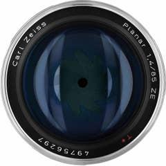 Zeiss Planar T* 85mm f/1.4 ZE Lens - Canon Mount