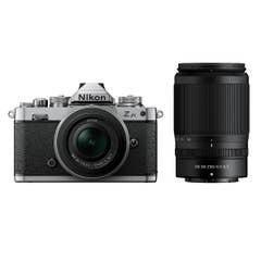 Nikon Z fc Black with Nikkor Z 16-50mm VR and Z 50-250mm VR Lens