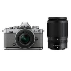 Nikon Z fc Natural Grey with Nikkor Z 16-50mm VR and Z 50-250mm VR Lens