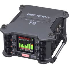 ZOOM F6 Field Recorder with 32-bit Float Recording