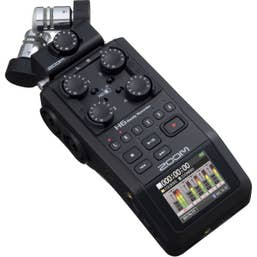 Zoom H6 All Black Digital Recorder