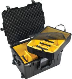 Pelican 1607 Air Case with Padded Dividers