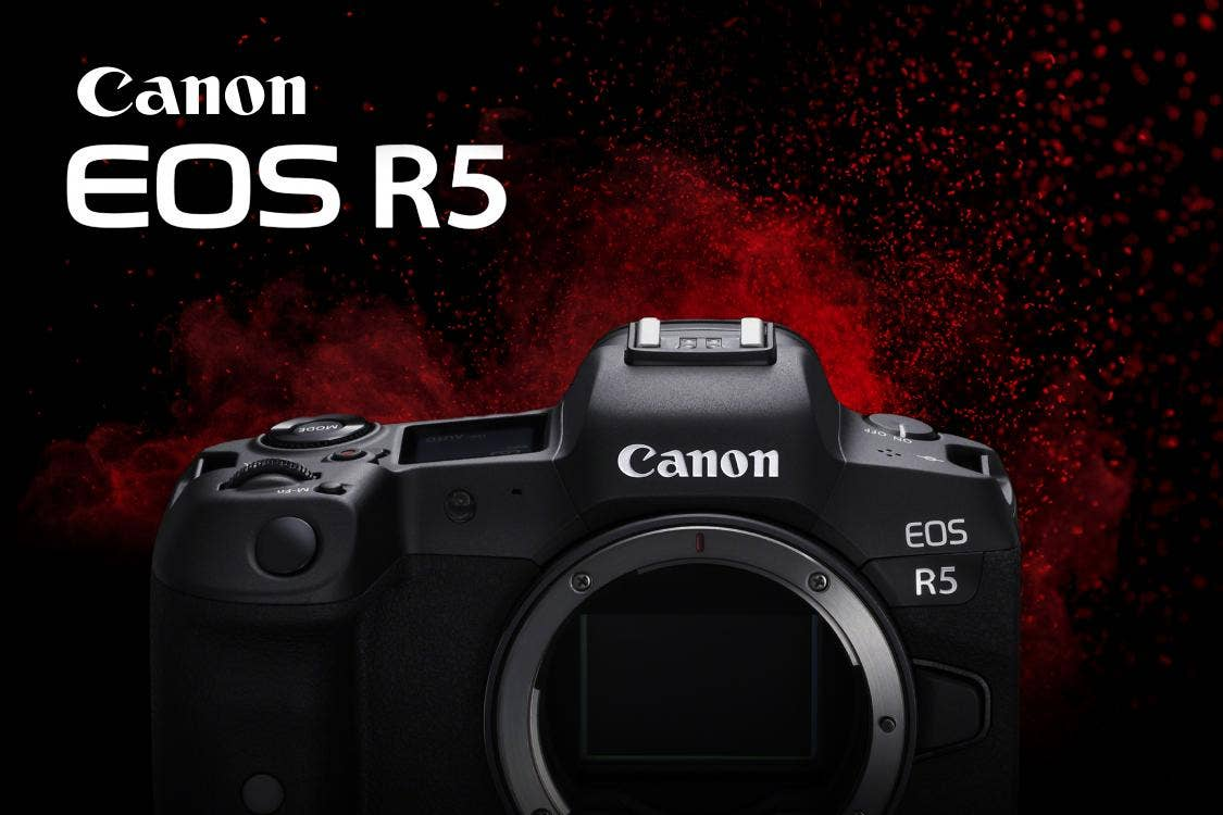 Canon Announces New Specs for Upcoming EOS R5