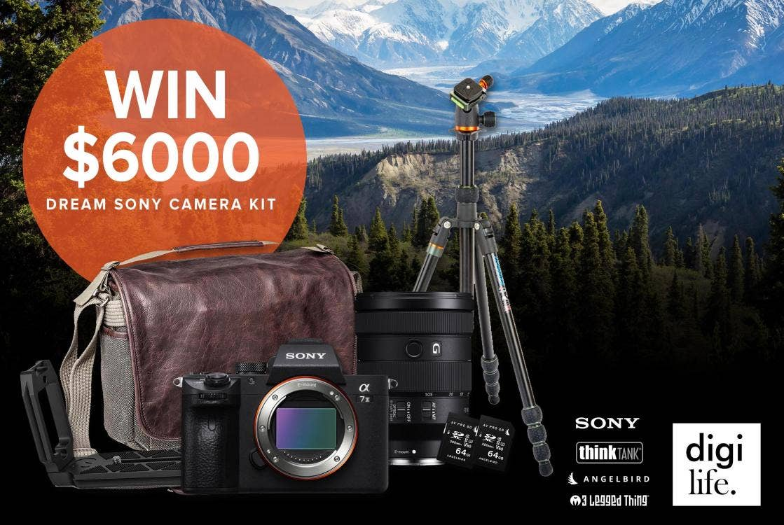 Join the digiLife Community and Win a $6,000 Dream Sony Kit