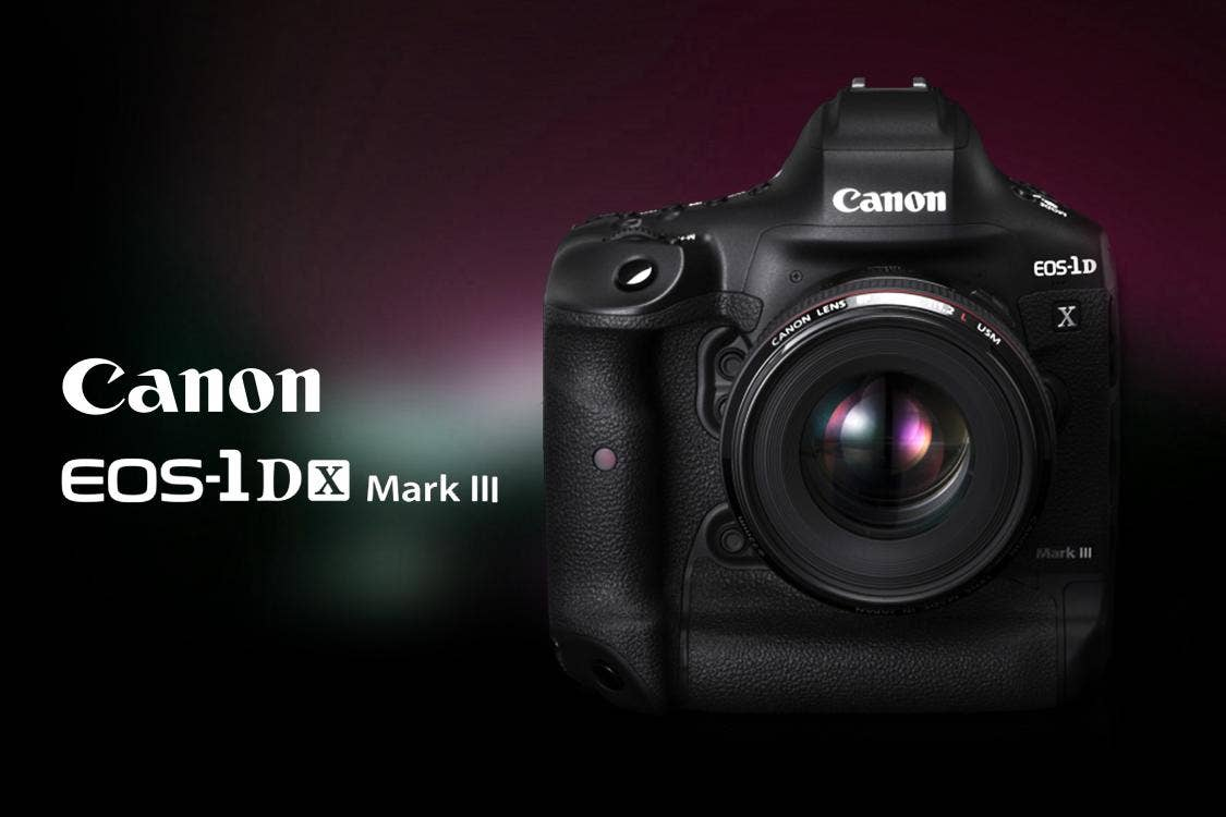 The Newest Pro DSLR - Canon 1DX Mark III