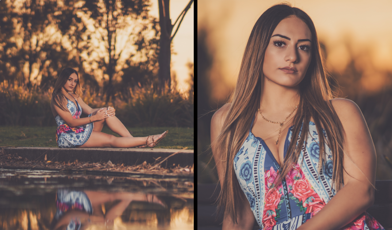 Experimenting with Portrait Focal Lengths - 24mm vs 85mm