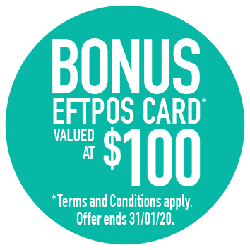 $100 eftpos card