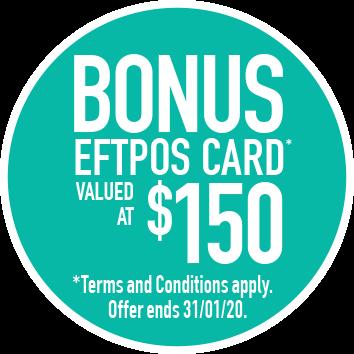 $150 eftpos card