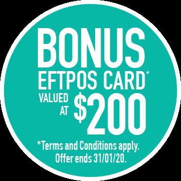 $200 eftpos card