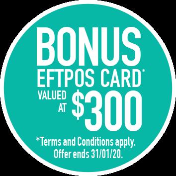 $300 eftpos card
